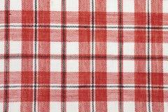 Tissu de coton contrôlé Photographie stock libre de droits