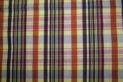 Tissu de coton modelé par fond Thaïlande Photo stock
