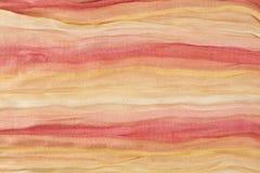 Tissu de coton multicolore Photographie stock libre de droits