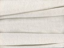 Tissu de coton plié Photos stock