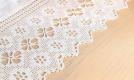 Tissu de dentelle Photo libre de droits