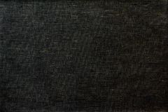 Tissu de fabrication domestique de toile dans la couleur noire Images libres de droits