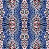 Tissu de fantaisie de crochet de modèle photos libres de droits