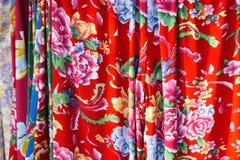 Tissu de fleur Image libre de droits