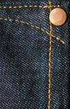 Tissu de Jean Images stock