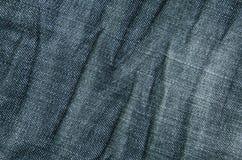 Tissu de Jean Photographie stock