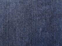 Tissu de jeans Photographie stock libre de droits
