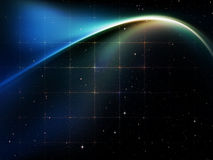 Tissu de l'espace Image libre de droits