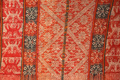 Tissu de laine de cachin Pérou Images libres de droits