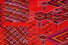 Tissu de laine du Guatemala Photo libre de droits