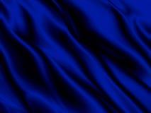 Tissu de luxe de fond bleu abstrait ou vague liquide de matériel en soie grunge de velours de satin de texture ou de fin luxueuse images stock