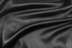 Tissu de luxe de fond abstrait ou plis de vague ou onduleux liquides Images libres de droits