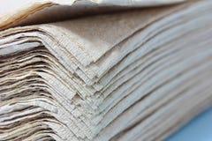 Tissu de papier Photographie stock libre de droits