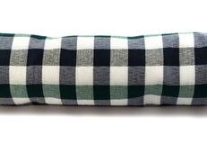 Tissu de petit pain à carreaux Photo stock