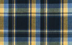 Tissu de plaid Photo stock