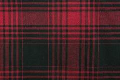 Tissu de plaid Photographie stock libre de droits