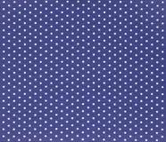 Tissu de point de polka Photo stock