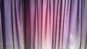 Tissu de rideau Photographie stock