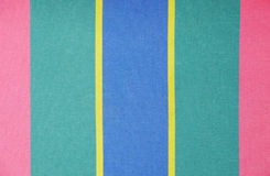 Tissu de Stripey Photo libre de droits