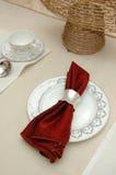 Tissu de table élégant Photographie stock