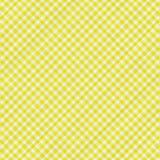 Tissu de table jaune Image libre de droits