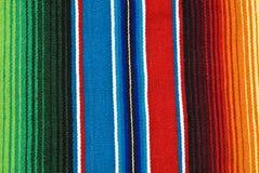 Tissu de table mexicain coloré image stock