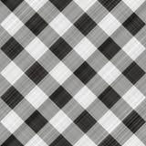 Tissu de table noir Images libres de droits
