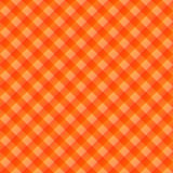 Tissu de table orange Photo libre de droits