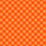 Tissu de table orange Photo libre de droits
