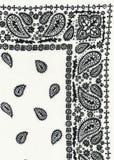 Tissu de table réel de pique-nique image stock