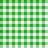 Tissu de table verte Photos stock