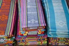 Tissu de Tais à dili East Timor, East Timor Photo libre de droits