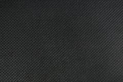 Tissu de texture rugueux noir Photo stock