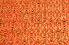 Tissu de tissu thaïlandais Photo libre de droits