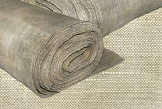 Tissu de toile Photographie stock libre de droits