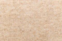 Tissu de toile beige Photographie stock libre de droits