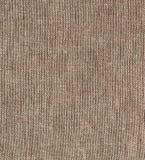 Tissu de toile brut simple naturel de Brown - toile Texture de fond de tissu de toile de jute de Brown Images libres de droits