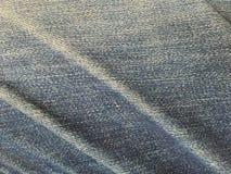 Tissu destiné de jeans Photos stock