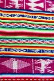 Tissu du Pérou Image libre de droits