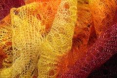 Tissu du tricotage de manuel (texture) Image libre de droits