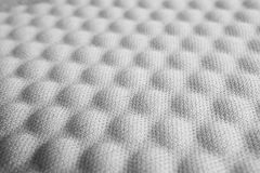 Tissu en nylon convexe gris images libres de droits