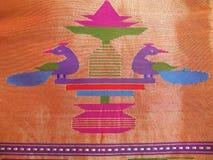 Tissu en soie Photographie stock libre de droits
