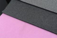 Tissu en soie coloré Images stock