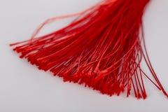 Tissu en soie coloré, alors rempli de parfums ou de phytothérapies Image libre de droits