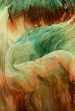 tissu en soie, configuration de textile Photo stock