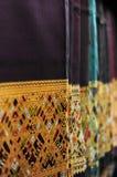 Tissu en soie de sarongs procédural image stock