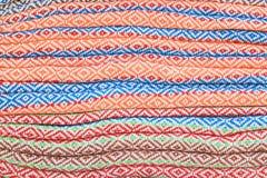 Tissu en soie thaï Image libre de droits