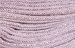 Tissu en soie thaï Photographie stock libre de droits