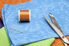 Tissu et amorçage Photo libre de droits
