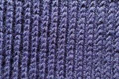Tissu fait main d'outre-mer de knit de nervure d'en haut photos libres de droits